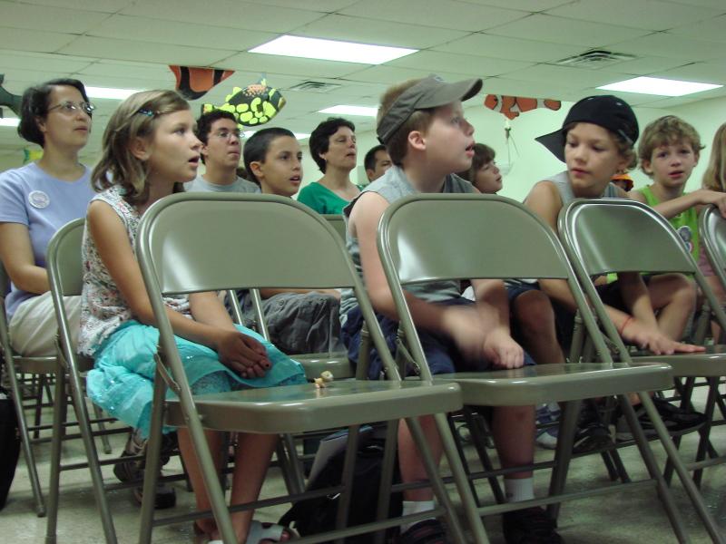Older kids Sunday school at Immanuel OPC